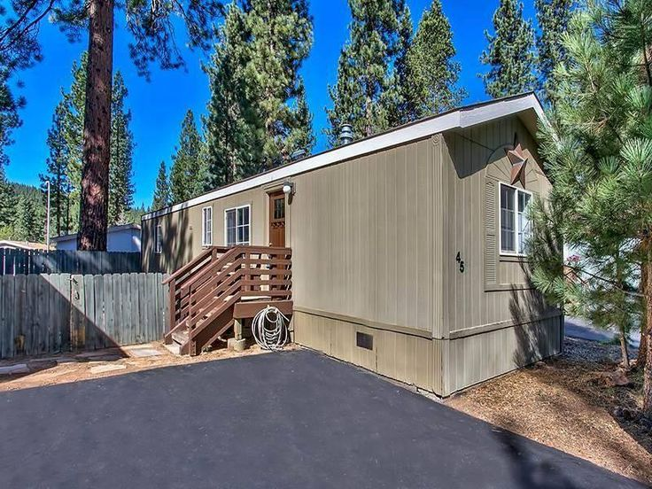 Modern Mobile Home Decor 2 Bedroom Bath For Sale In Truckee