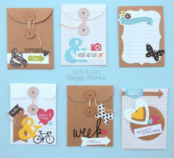 DIY Envelopes by Vicki Boutin