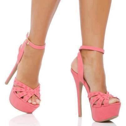 445 best Hot pink heels images on Pinterest