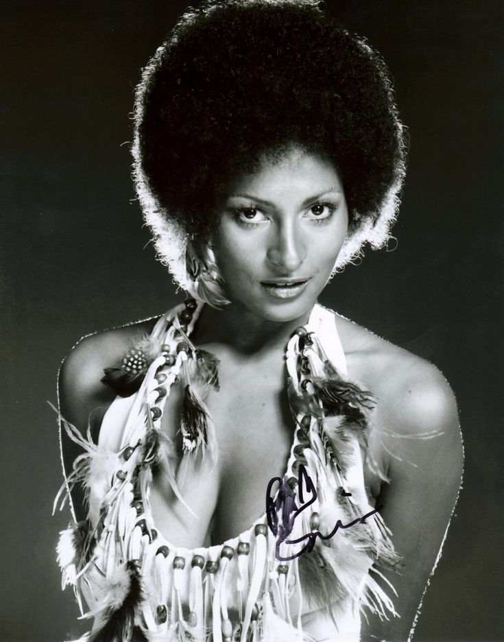 Pam grier sexy red valuable