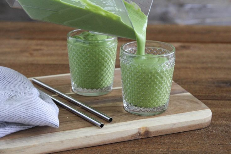 Gut-healing smoothie - Dr. Axe http://www.draxe.com #health #holistic #natural