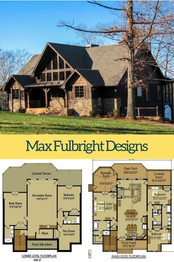 Appalachia Mountain Mountain House PlansLake 16