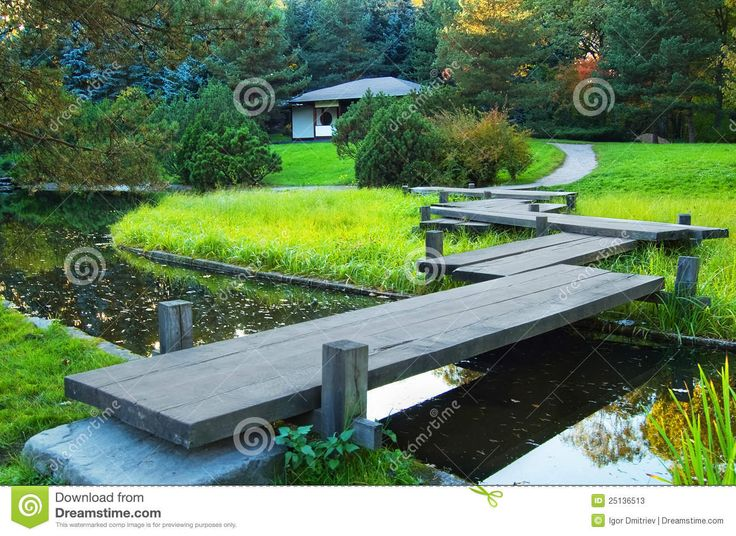Autumn Park In Japanese Style - Download From Over 29 Million High Quality Stock Photos, Images, Vectors. Sign up for FREE today. Image: 25136513