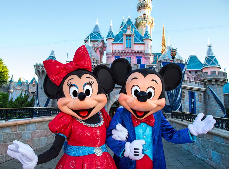 Mickey Minnie Mouse Disneyland Diamond Celebration