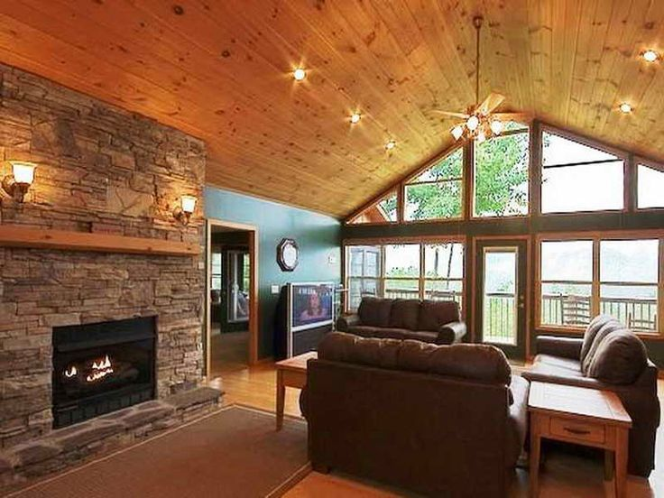 Vaulted Ceiling Ideas | 18 Photos Of The Decorative Cathedral Ceilings For  Home