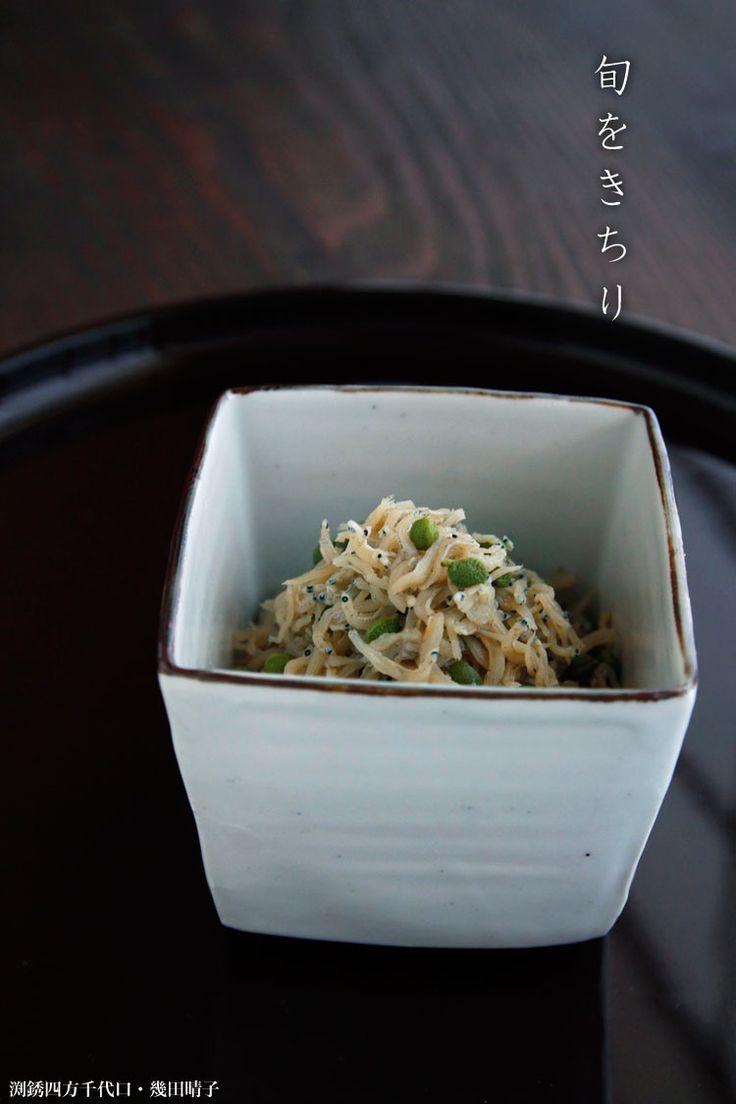 渕銹四方千代口・幾田晴子 実山椒が出回り始めました。 関西では、初春の「イカナゴの釘煮」に続いて、初夏、京都のお土産でも有名な「ちりめん山椒」の季節です。 さっそく作ってみました。 今年は、薄口醤油に味醂は少なめ。いくら…