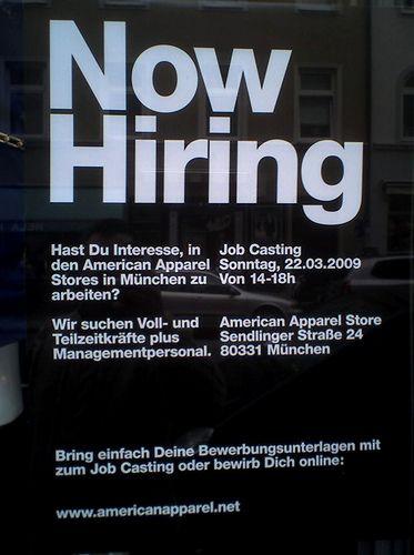 how to write a recruitment ad