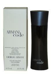 ARMANI CODE Men TESTER Eau de Toilette 2.5 Spray by Giorgio Armani. $66.25. TESTERS. 2.5. ARMANI CODE Men TESTER Eau de Toilette 2.5 Spray