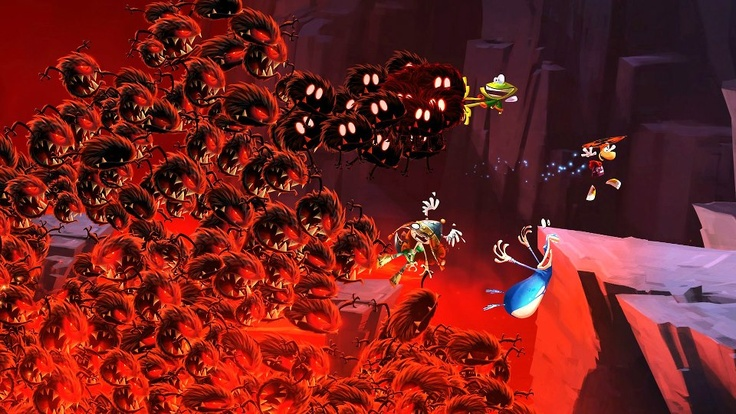 Rayman Legends - one of the best looking 2-D games ever made - read the review at http://second-generation.com/?p=80