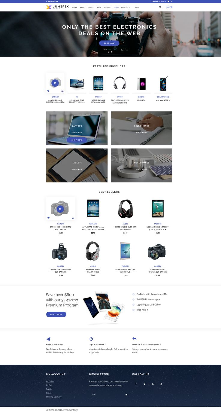 Online Shop Page of Jumerix - New Joomla Template http://www.templatemonster.com/jumerix-multipurpose-joomla-template-60060.html