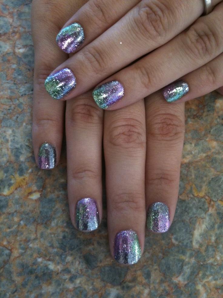 Tie Dye Rock Star Nails