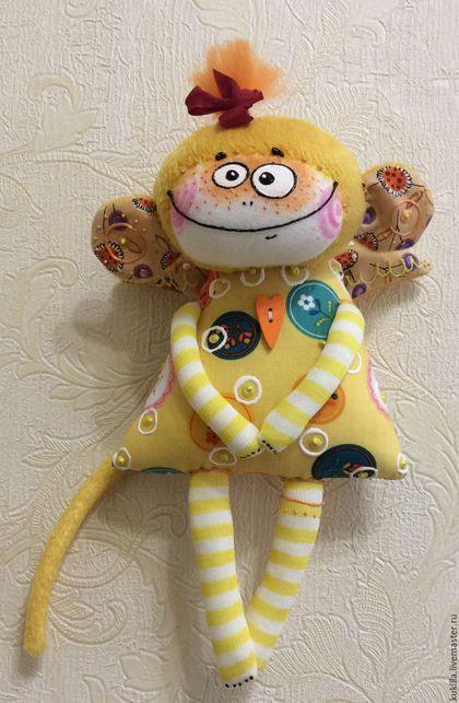 Игрушки животные, ручной работы. Заказать Мартышки, обезьянки.... Любовь Лаврентьева. Авторские куклы. Ярмарка Мастеров. Подарок на новый год, роспись