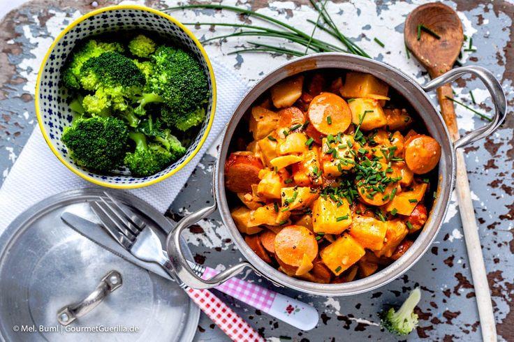 (LCHF Rezept) Schwedischer Wursttopf |GourmetGuerilla.de