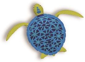 Robo Turtle Roze Blauw Goliath Games Robo Turtle Playset recensie review nieuws robotschildpad schildpad zwemmen kruipen sensoren water vinnen schild batterijen groene bruine schildpad speelset aquarium rots asviesprijs