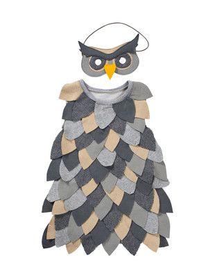 Schnittmuster: Eule - Kleid und Maske - Fasching - burda style
