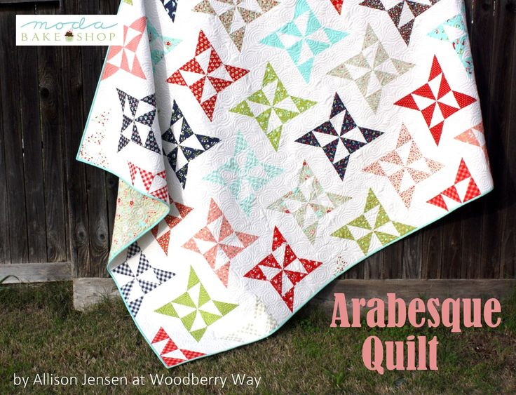 Arabesque Quilt « Moda Bake Shop