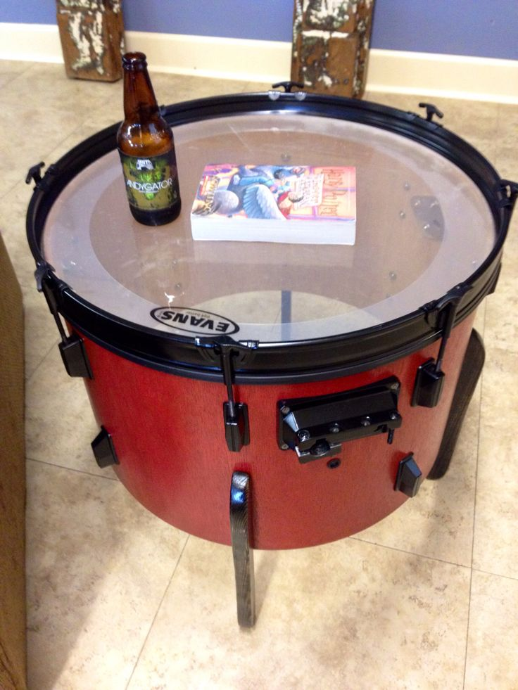 1000 ideas about drum table on pinterest duncan phyfe for Repurposed drum shelf