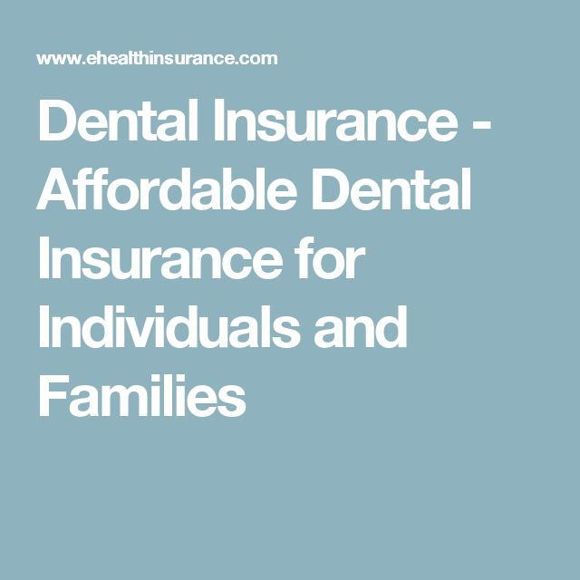 ehealthinsurance dental