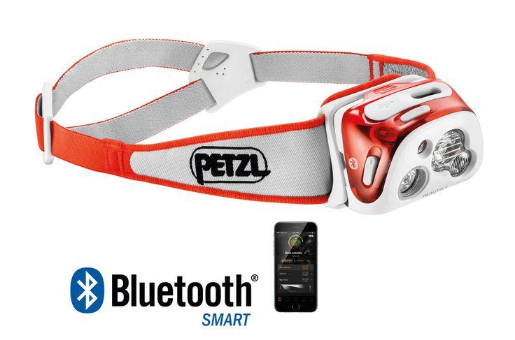 Lampe Frontale puissante PETZL Reactik plus de sport & trail