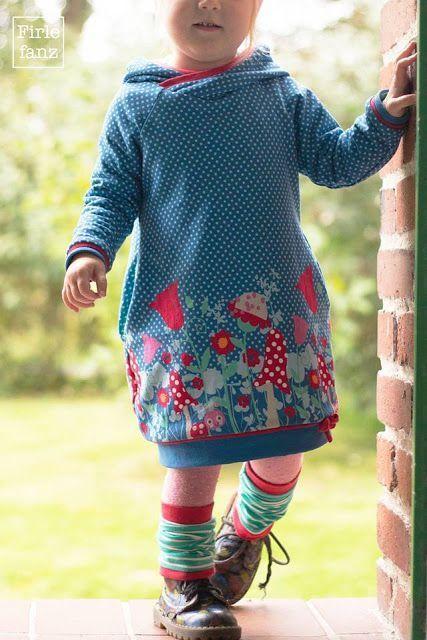 Firlefanz: Kleider für groß und klein Zo lief met die beenwarmertjes en stoere laarsjes