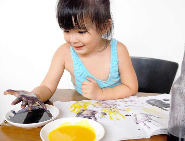 How to Make Non Toxic Paint for Kids -- via wikiHow.com