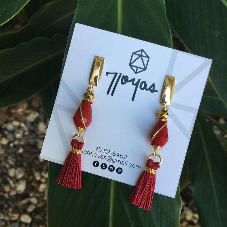 Nadie es como tú,ese es tu poder. Botánica Urbana , Modelo: Cherry Urban Tassels 7joyas #jewelry #aretes #tassels #jewelrylovers #joyas #Panama #jewelrydesigner #picoftheday #musthave #jewellerymaking #fashionblogger
