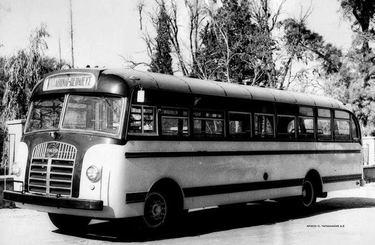 VOLVO 1955 GREEK OLD URBAN BUS