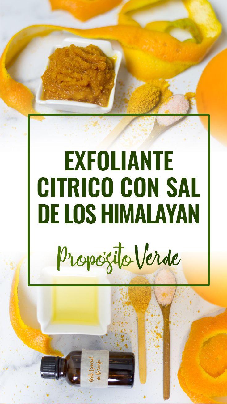 Exfoliar La Cara Con Sal