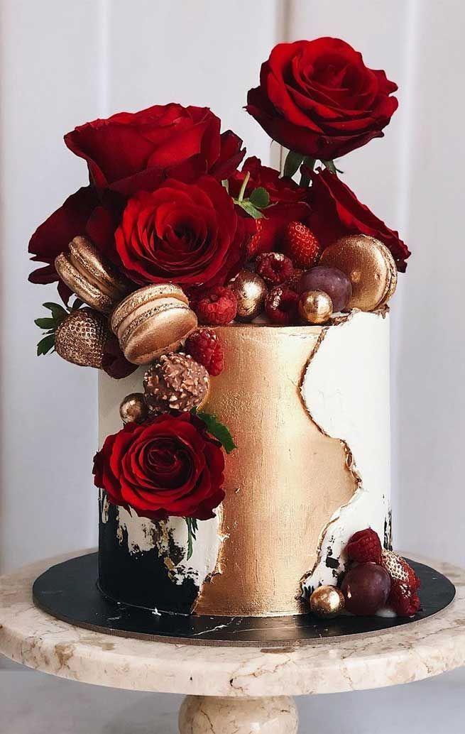 79 Hochzeitstorten, die wirklich hübsch sind!   – Cakes yummyy