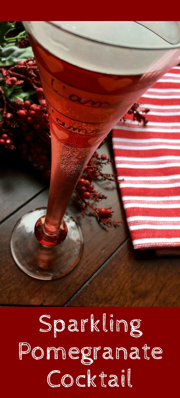Sparkling Pomegranate Cocktail | Recipe