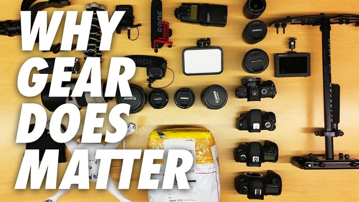 Let's talk gear and about why gear does matter. Many big youtubers filmmakers and marketers will tell you that gear doesn't matter.It's not true.  Having the right tools can make the process more efficient and enjoyable and will contribute to your creativity and ultimately the end result.   So GEAR DOES MATTER! Why does it matter? Watch the video to find out.  Subscribe to my channel to be notified when new videos drop https://www.youtube.com/subscription_center?add_user=chriskubby  Chris…
