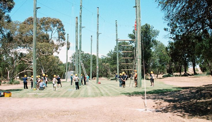 Glenhaven Park camp High Ropes