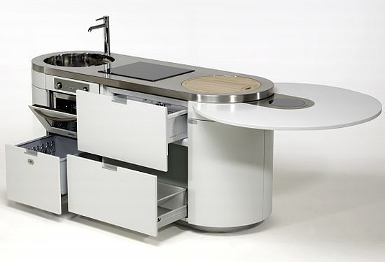 All in one kitchen units for compact urban homes :http://www.hometone.com/10-kitchen-units-compact-urban-homes.html