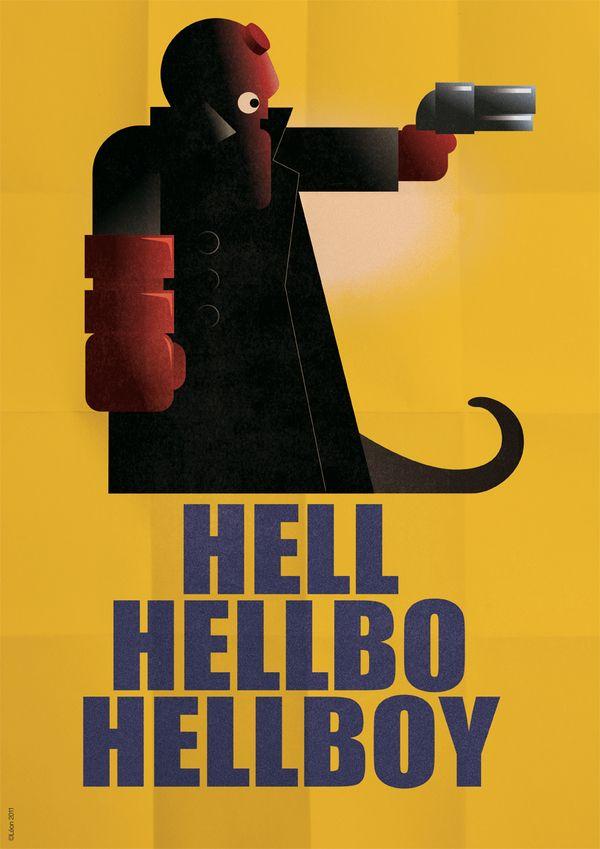 Posters Art Decó de Súper Héroes