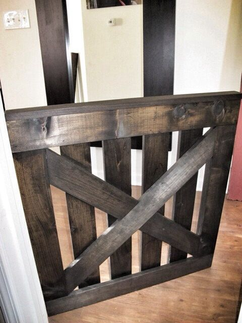 Picket Fence Style Baby (\u0026Dog) Gate - Jacobean on Etsy & 70 best rustic cafe doors and baby gates images on Pinterest ...