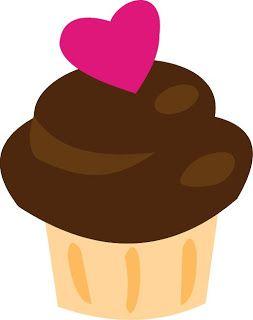 EMPEZANDO A EMPEZAR: Toppers para tus cupcakes de San Valentín descargables