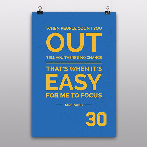 Stephen Curry Golden State Warriors 30 by FineSportsPrints on Etsy