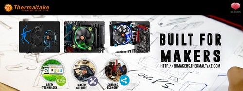 Thermaltake and 3D Hubs Announce 3D Printing Service Partnership
