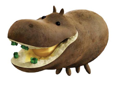 Hippo Explosive Diarrhea Hip-potato-mus : a spu...