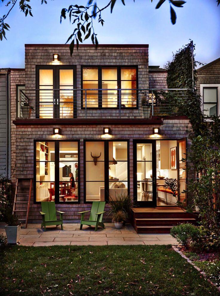 Traditionelles Edwardian Haus wird in San Francisco Bay Area saniert