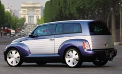 "Chrysler PT ""California Cruiser."" Too bad they never built this version."