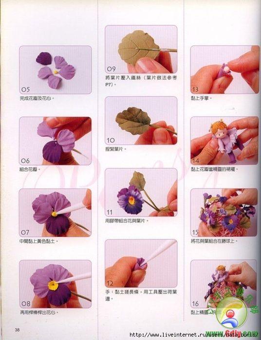 цветы из полимерной глины своими руками: 22 тыс изображений найдено в Яндекс.Картинках