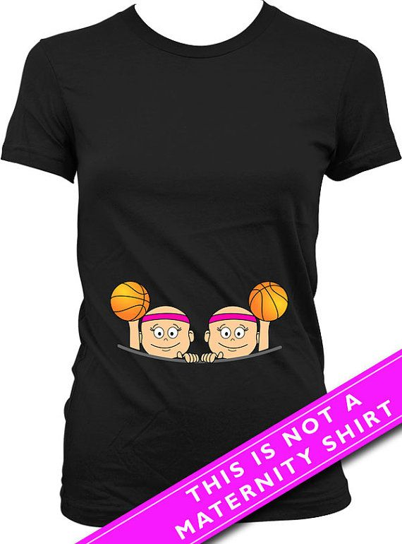 For entire collection of Twin Peeking Baby Shirts: https://www.etsy.com/ca/shop/Materniteees?section_id=17746105&ref=shopsection_leftnav_4  Pregnancy Reveal Baby Girl Twins Basketball T Shirt  Welcome to Materniteees, pregnancy clothing made fun! ▄▄▄▄▄▄▄▄▄▄▄▄▄▄▄▄▄▄▄▄▄▄▄▄▄▄▄▄▄▄▄▄▄▄▄▄▄▄▄▄▄▄▄▄▄▄▄▄▄▄▄ COUPON CODES: Here is our way of saying thanks!  BUY 3 ITEMS GET 1 FREE (apply the coupon code 1FREE at checkout) BUY 6 ITEMS GET 2 FREE (apply the coupon code 2FREE at checkout) BUY 9 ITEMS GET 3…