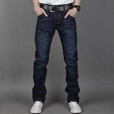 Menn Casual/Arbejde Pure Jeans Bukser ( Denimstoff )(2174692) – NOK kr. 203