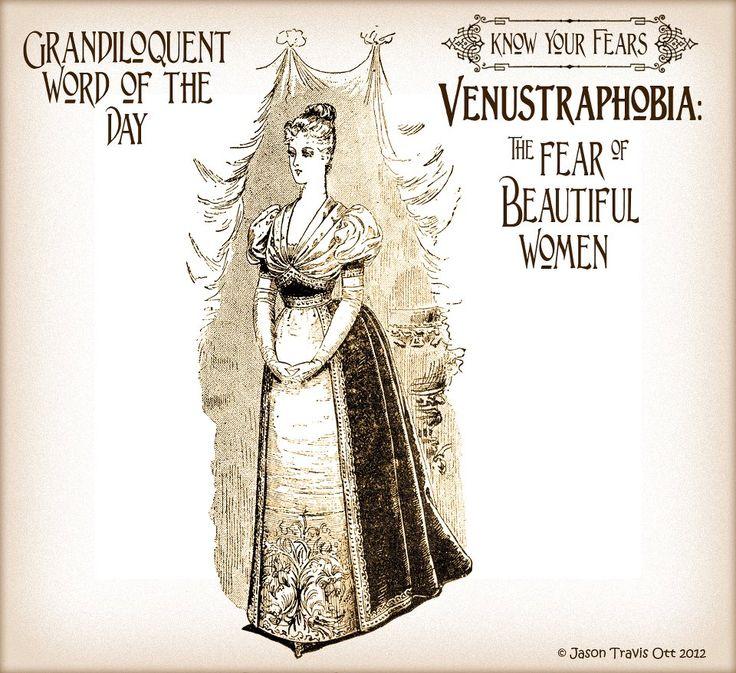 Venustraphobia The fear of beautiful women...