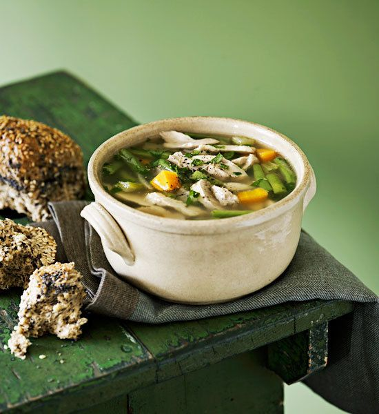 Old-fashioned chicken soup