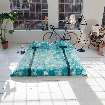 Snurk Pool Bedding, Duvet Cover & Pillowcase Set at Dotmaison