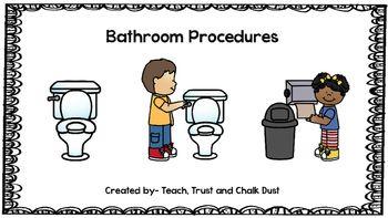 1000 ideas about bathroom procedures on pinterest ideas - Bathroom procedures for preschool ...