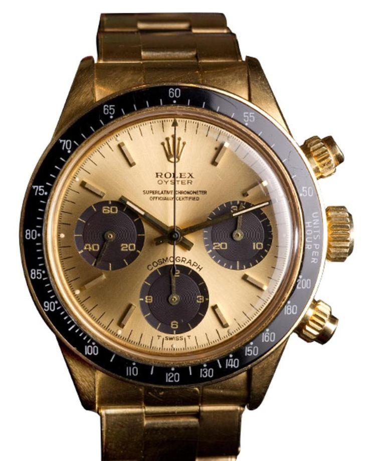 Rolex Vintage Gold Daytona 6263