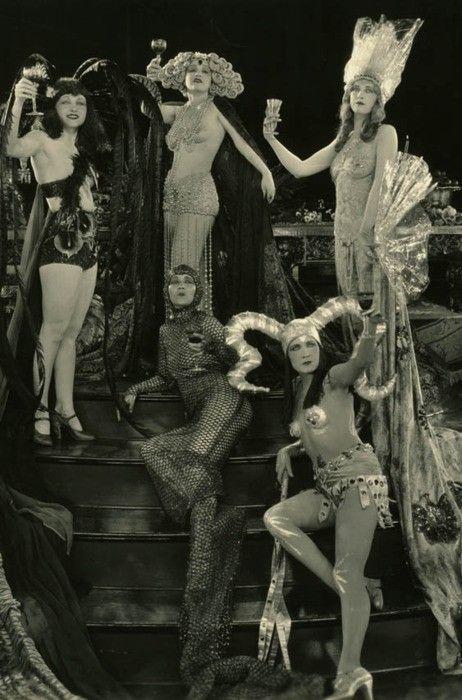 Showgirls, c. 1920s.